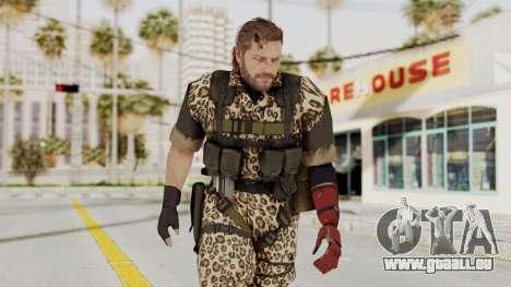 MGSV The Phantom Pain Venom Snake No Eyepatch v8 für GTA San Andreas