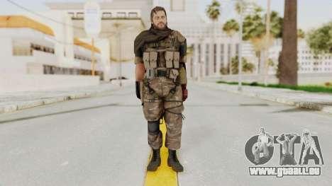 MGSV The Phantom Pain Venom Snake Sc No Patch v9 pour GTA San Andreas deuxième écran