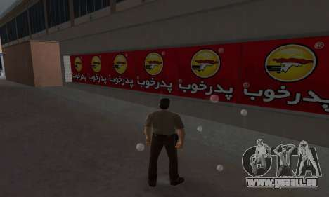 Pizza Shop Iranian V2 für GTA Vice City dritte Screenshot