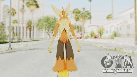 Mega Blaziken Shiny pour GTA San Andreas deuxième écran