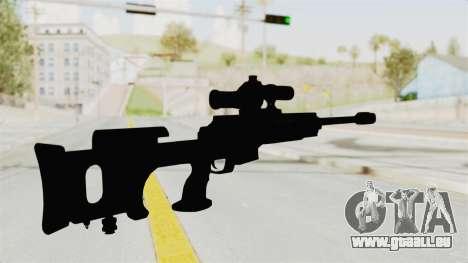 Longbow-DMR pour GTA San Andreas troisième écran