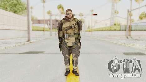 MGSV Phantom Pain Venom Snake Battle Dress pour GTA San Andreas deuxième écran