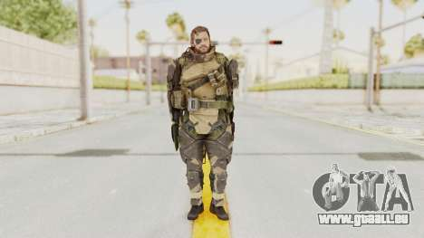 MGSV Phantom Pain Venom Snake Battle Dress für GTA San Andreas zweiten Screenshot