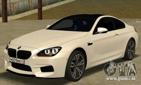 BMW M6 F13 Coupe pour GTA San Andreas
