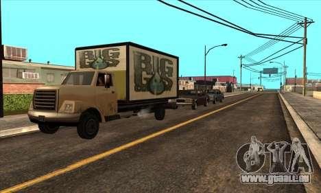 Mise à jour de la circulation pour GTA San Andreas