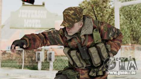 Battery Online Russian Soldier 10 v1 pour GTA San Andreas