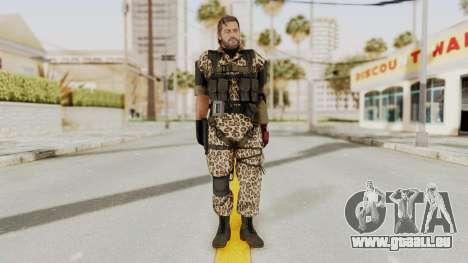 MGSV The Phantom Pain Venom Snake No Eyepatch v8 für GTA San Andreas zweiten Screenshot