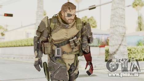 MGSV Phantom Pain Venom Snake Battle Dress für GTA San Andreas