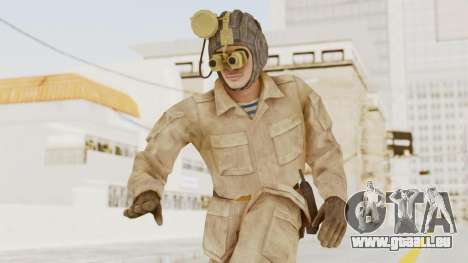 MGSV The Phantom Pain Soviet Union Radioman NVG pour GTA San Andreas