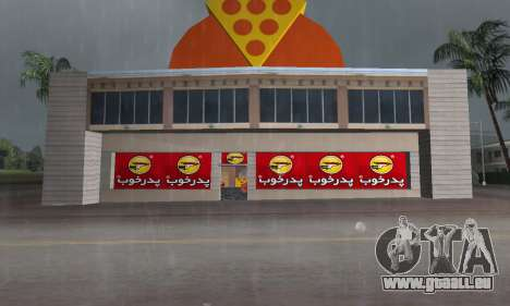 Pizza Shop Iranian V2 für GTA Vice City