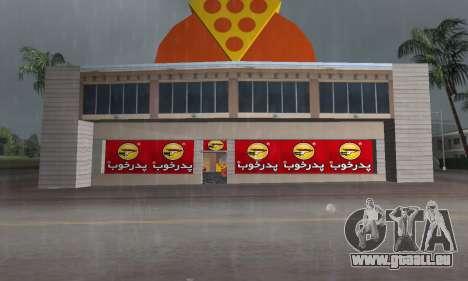 Pizza Shop Iranian V2 für GTA Vice City