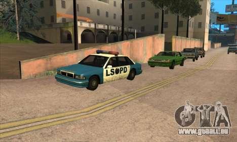 Mise à jour de la circulation pour GTA San Andreas quatrième écran