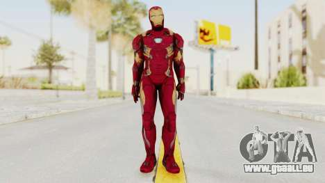 Iron Man Mark 46 pour GTA San Andreas deuxième écran