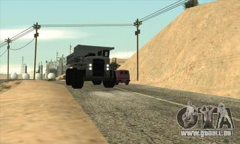 Mise à jour de la circulation pour GTA San Andreas troisième écran