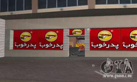 Pizza Shop Iranian V2 für GTA Vice City zweiten Screenshot