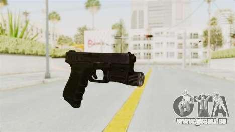 Glock 19 Gen4 Flashlight für GTA San Andreas zweiten Screenshot