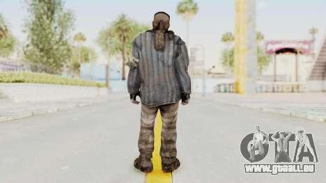 COD BO Reznov Vorkuta für GTA San Andreas dritten Screenshot