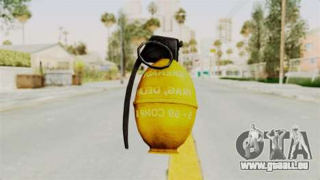 Grenade Gold für GTA San Andreas