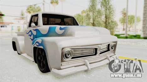 GTA 5 Slamvan Stock PJ1 pour GTA San Andreas