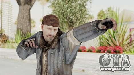 COD BO Reznov Vorkuta pour GTA San Andreas