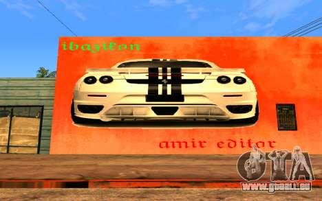 Ferrari Wall Graffiti für GTA San Andreas