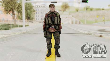 Battery Online Russian Soldier 10 v1 für GTA San Andreas zweiten Screenshot