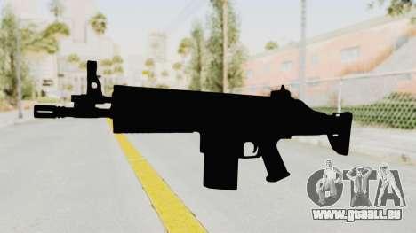 SCAR H für GTA San Andreas zweiten Screenshot