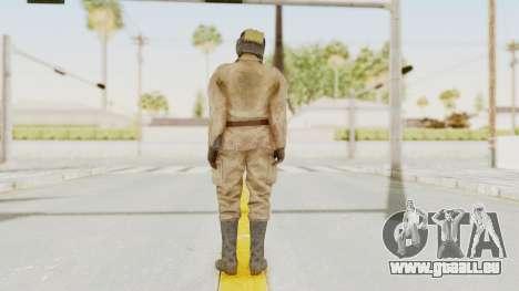 MGSV The Phantom Pain Soviet Union Radioman NVG für GTA San Andreas dritten Screenshot