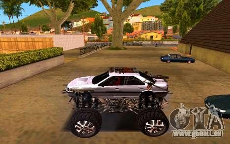 Peugeot Persia Full Sport Monster pour GTA San Andreas laissé vue
