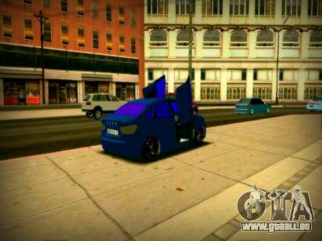 Lada Vesta Lambo pour GTA San Andreas vue de droite