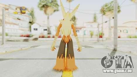 Mega Blaziken Shiny pour GTA San Andreas troisième écran
