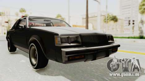 Buick Regal 1986 pour GTA San Andreas