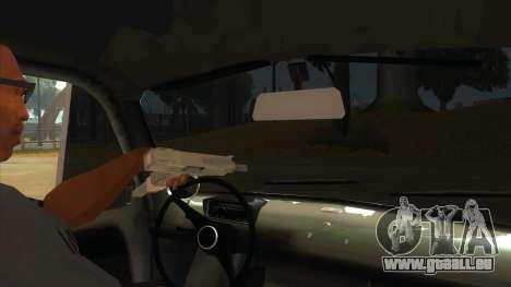 Fiat 600 pour GTA San Andreas vue intérieure