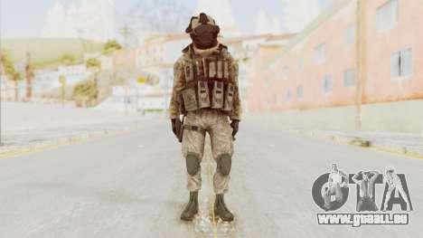 COD MW2 Shadow Company Soldier 2 pour GTA San Andreas deuxième écran