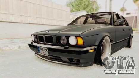 BMW M5 E34 USA für GTA San Andreas rechten Ansicht