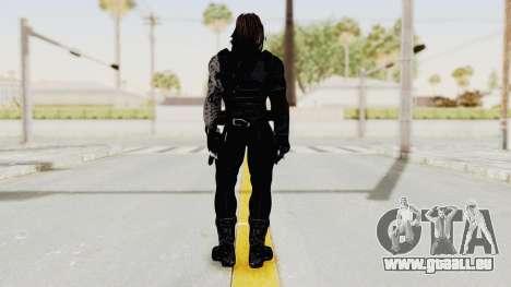 Captain America Civil War - Winter Soldier für GTA San Andreas dritten Screenshot