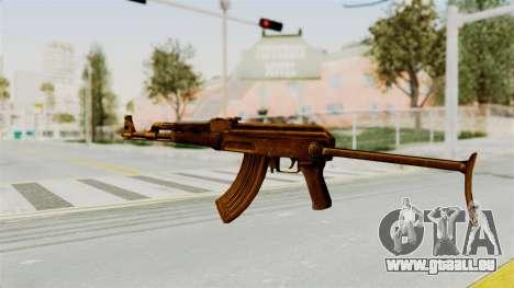 AK-47S Gold pour GTA San Andreas deuxième écran