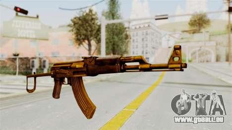 AK-47S Gold pour GTA San Andreas