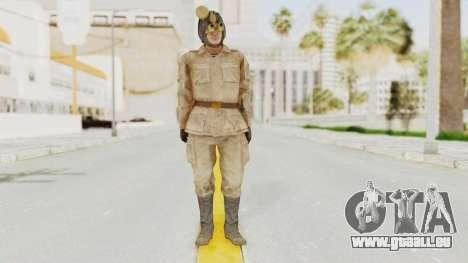 MGSV The Phantom Pain Soviet Union Radioman NVG pour GTA San Andreas deuxième écran