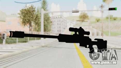 Longbow-DMR pour GTA San Andreas deuxième écran