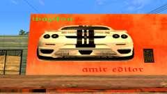 Ferrari Wall Graffiti pour GTA San Andreas