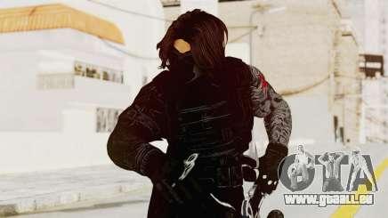Captain America Civil War - Winter Soldier pour GTA San Andreas