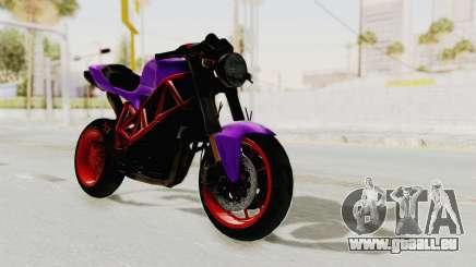 Ducati 1098 Nakedbike für GTA San Andreas