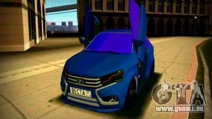 Lada Vesta Lambo für GTA San Andreas
