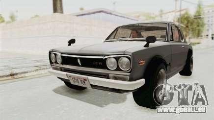 Nissan Skyline KPGC10 1971 pour GTA San Andreas