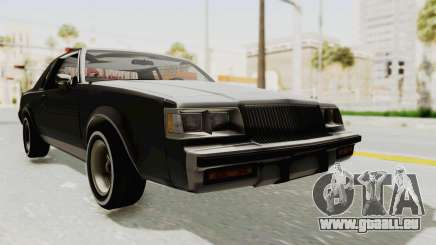 Buick Regal 1986 pour GTA San Andreas