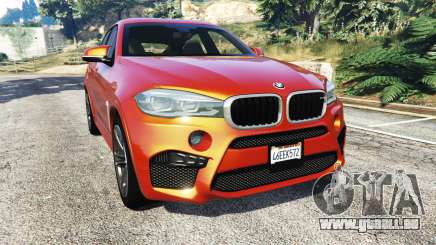 BMW X6 M (F16) v1.6 pour GTA 5