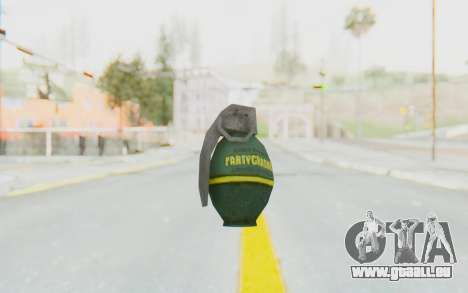 APB Reloaded - Grenade pour GTA San Andreas troisième écran