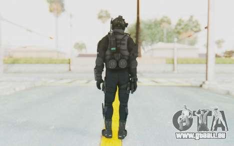 Federation Elite Assault Tactical pour GTA San Andreas troisième écran