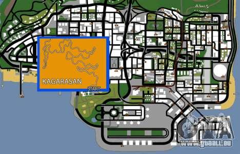 Kagarasan Piste pour GTA San Andreas septième écran